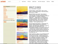 Artnet: Beauty Is Back