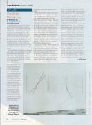 ArtNews: Dorothea Rockburne / Jill Newhouse Gallery and Museum of Modern Art