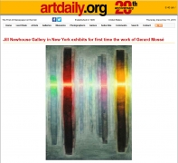 Artdaily: Jill Newhouse Gallery in New York exhibits for first time the work of Gerard Mossé