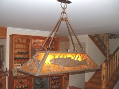 Trout Pool Table Light