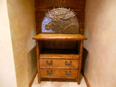 Bull Moose Cabinet