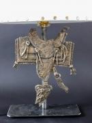 Saddle Casting Lamp