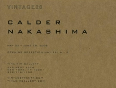 Alexander Calder and George Nakashima