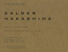 Alexander Calder and George Nakashima