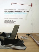 Post War French Architectural and Modernist Furniture 1947-1958