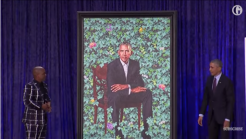 Barack and Michelle Obama's official portraits expand beyond usual format