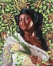 Kehinde Wiley's First Show at Sean Kelly is Also His First Series  of Portraits of Women