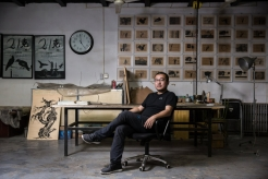 A Chinese Artist Consumed by the Idea of Inevitable Change