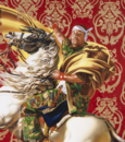 Kehinde Wiley's echoes of masterworks