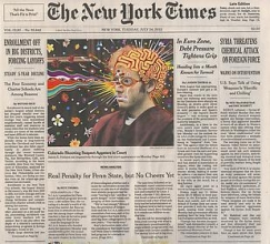 Fred Tomaselli at Columbus College of Art and Design