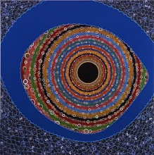 Fred Tomaselli at the 17th Biennale of Sydney