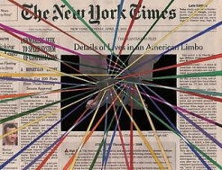 Fred Tomaselli at the New York Public Library