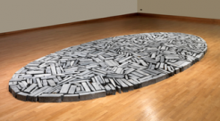 Richard Long at Burton Art Gallery and Museum