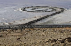 "Robert Smithson's ""Spiral Jetty"" Named Utah's State Work of Land Art"