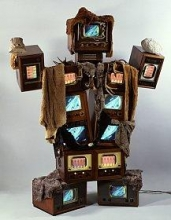 Nam June Paik at the Chelsea Art Museum