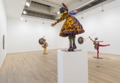 Breakfast viewing and curatorial discussion of Yinka Shonibare, MBE: Rage of the Ballet Gods