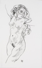 Standing Female Nude