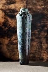 Monumental Eggplant Vase