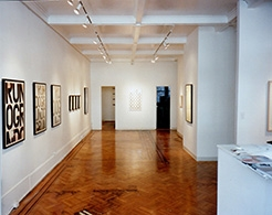 Robert Ryman, Christopher Wool, Richard Prince, Robert Gober, Sherrie Levine, David Salle, Sigmar Polke, and Julian Schabel