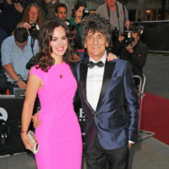 Ronnie Wood's art is exhibited at Hoerle-Guggenheim Gallery