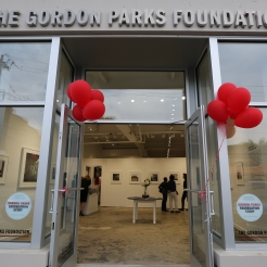 THE GORDON PARKS FOUNDATION GRAND OPENING IN PLEASANTVILLE