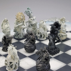 First Chess Set designed in 2007