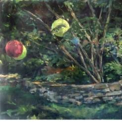 Garden Lanterns, Diptych