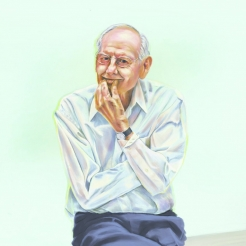 "Wayne Thiebaud | ""Of course Wayne Thiebaud is planning to paint on his 100th birthday"""