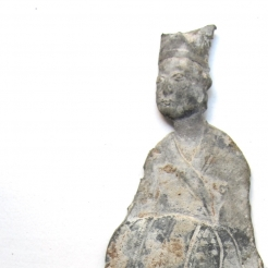 Rare Lead Figure of a Courtly Gentleman