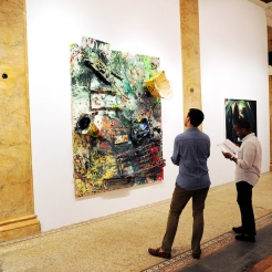 Inside Vito Schnabel's Art Show in One of New York's Most Mysterious Buildings