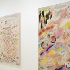 Gus Van Sant, filmmaker and painter, shows his watercolors in NYC