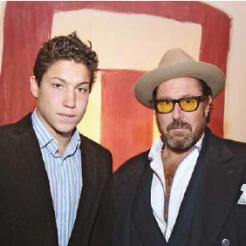 St. Moritz grabbed the attention of the New York Art & Jetset scene : The US Art impresario, Vito Schnabel, debuts in Engadine