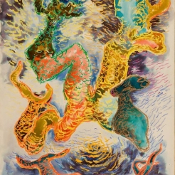 Fantasy: Chaim Gross Drawings 1944-50