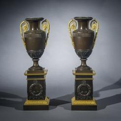 Pair Restauration Vases