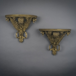 Pair Fern Wall Brackets