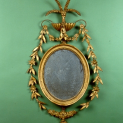Oval Federal Mirror