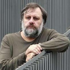 Philosopher Slavoj Zizek