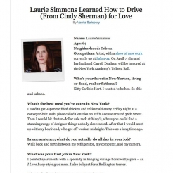 New York Magazine 21 Questions