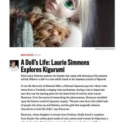 A Doll's Life: Laurie Simmons Explores Kigurumi