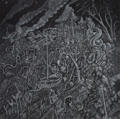 Piece from Subconscious Narratives by David Welker on view at Hg Contemporary