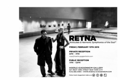 RETNA SOLO SHOW   Articulate & Harmonic Symphonies of the Soul