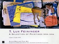 T. Lux Feininger A Selection of Paintings 1954-1994