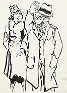 George Grosz, Esq. Drawings For Esquire Magazine