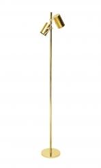 """Brass """"Giunko"""" floor lamp by Fulvio Ferrari for Solka B"""