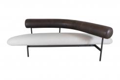 Sculptural sofa by Xavier Mariscal