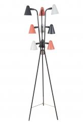 Gino Sarfatti for Lightolier Enameled Tripod Floor Lamp