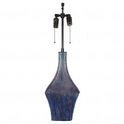 Fantoni Purple Vase Lamp