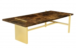 Reconfigured Aldo Tura Top With Appel Modern Base
