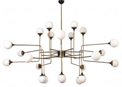 Stilnovo 24 Globe Chandelier