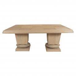 Jacques Kline Oak Dining Table